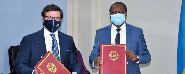 GoR and EU sign Frw 55 billion grant agreement to support social protection in response to COVID-19 crisis