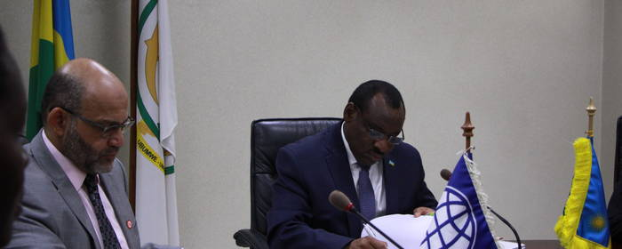 Government of Rwanda-World Bank Sign Agreement to Increase Access to Electricity through Off -grid Renewable Energy.