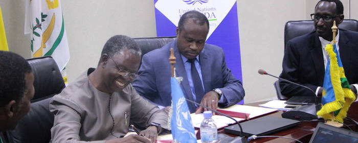 Rwanda and United Nations sign the second, United Nations Development Assistance Plan (2018-2023)
